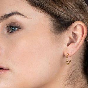 Chain Gold Earrings